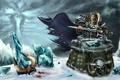 Картинка the frozen throne, рога, frostmourne, by Sepik, menethil, фростморн, артас