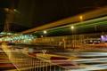 Картинка ночь, город, огни, Chichester