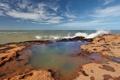 Картинка камни, берег, волна, море