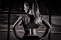 Картинка model, back, fitness
