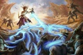 Картинка скалы, магия, арт, монстры, Diablo 3, Witch Doctor