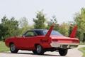 Картинка мускул кар, 1970, Plymouth, задок, Superbird, Road Runner, мощный
