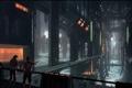 Картинка будущее, люди, фантастика, сооружение, арт, by andreasrocha, colony interior