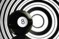 Картинка фон, обои, минимализм, чёрно- бёлое, шар. цифра, картинка. фото. изображение