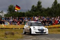 Картинка Авто, Белый, Люди, Поворот, WRC, Rally, Фанаты
