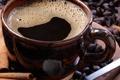 Картинка coffee, Cup, coffee beans