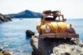 Картинка камни, Citroen, miniature, путешествие, машинка, Kim Leuenberger, миниатюра