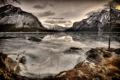 Картинка природа, горы, озеро