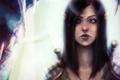 Картинка девушка, арт, кулон, татуировка, эльфийка, dragon age