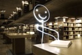 Картинка человечек, книга, библиотека