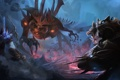 Картинка Sylvanas, Rehgar, diablo, Heroes of the Storm, warcraft