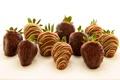 Картинка шоколад, клубника, фрукты, fruit, chocolate, strawberries