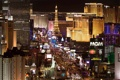 Картинка Las Vegas, казино, вечер, огни, Лас Вегас, город, отели