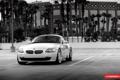 Картинка black and white, bmw z4, vossen wheels