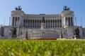 Картинка небо, трава, италия, рим, площадь Венеции, Витториано