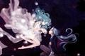 Картинка вода, девушка, светлячки, аниме, арт, парень, bishoujo senshi sailor moon