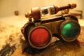 Картинка лампа, очки, метал, линзы, steampunk