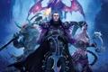 Картинка монстр, эльфийка, минотавр, Shades of Darkness, Might & Magic Heroes 6