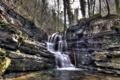 Картинка пейзаж, природа, река, водопад