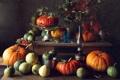 Картинка тыквы, натюрморт, овощи