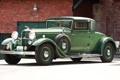 Картинка Lincoln, фон, купе, зелёный, кирпичи, классика, Coupe