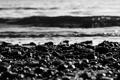 Картинка море, вода, солнце, макро, лучи, пейзаж, природа