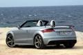 Картинка небо, Audi, Roadster, автомобиль, задок, Audi TT