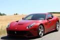 Картинка машина, red, феррари, красная, вид спереди, берлинетта, ferrari f12 berlinetta
