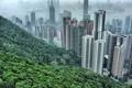 Картинка небоскрёбы, деревья, дома, china, hong hong, гонгонг, китай