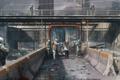 Картинка машины, город, стена, апокалипсис, эпидемия, зона, The Last of Us