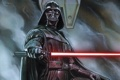 Картинка star wars, darth vader, laser sword