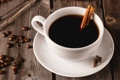 Картинка кофе, зерна, чашка, корица, специи
