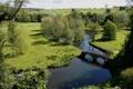 Картинка Зелень, Вода, Природа, Фото, Мост, Трава, Деревья