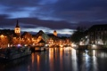 Картинка красиво, ночной город, венеция