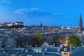 Картинка огни, вечер, Шотландия, Великобритания, сумерки, Эдинбург