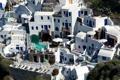 Картинка дома, бассейн, Санторини, Греция, двор