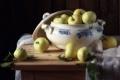 Картинка фон, яблоки, натюрморт