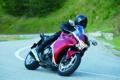 Картинка дорога, красный, спорт, мотоцикл