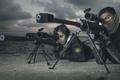 Картинка оружие, machine gun, snipers