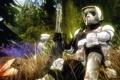 Картинка лес, оружие, Star Wars, солдат, шлем, броня, винтовка