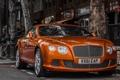 Картинка машина, город, улица, Bentley