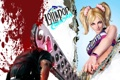 Картинка девушка, кровь, болельщица, блондинка, зомби, хвостики, Lollipop Chainsaw