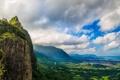Картинка природа, горы, вид, панорама, море