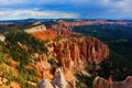 Картинка лес, горы, Bryce Canyon National Park, осыпи