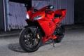Картинка красный, тень, ограждение, мотоцикл, red, суперспорт, honda