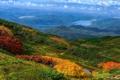 Картинка осень, лес, горы, природа, панорамма