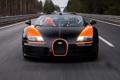 Картинка Бугатти, Bugatti, Вейрон, Veyron, суперкар, передок, гиперкар