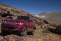 Картинка горы, джип, Land Rover, Range Rover, передок, Ренж Ровер, Лэнд Ровер