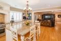 Картинка дизайн, стол, стулья, интерьер, потолок, кухня, люстра