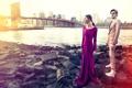 Картинка девушка, город, парень, Spring, Summer, collection, 2016